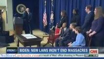 Caught on Camera  Joe Biden admits gun control will not stop mass shootings or save lives