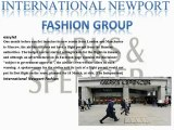 International Newport Fashion: Marks and Spencer Group Plc looking to increase clothing sales with the help of British Fashion Council