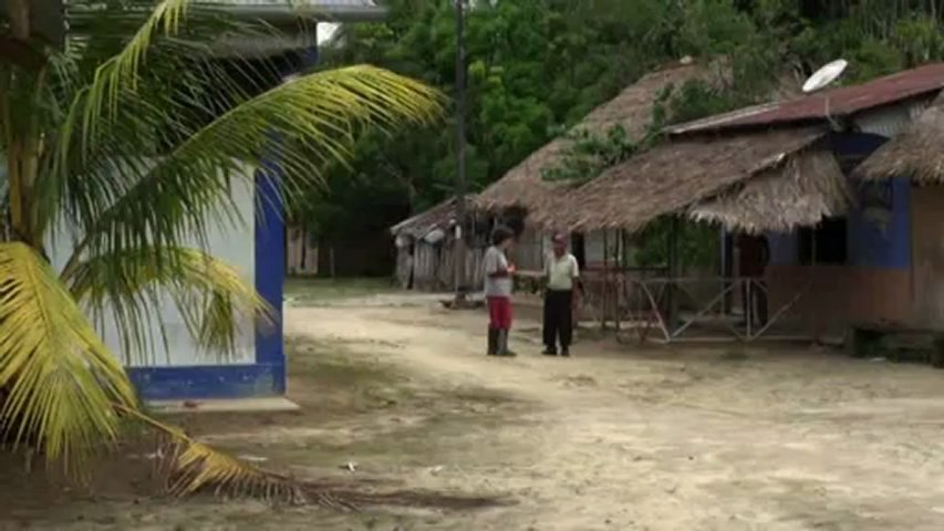 Léonore, stagiaire volontaire en foret amazonienne