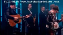 Video Mumford and Sons I will wait Live Performance BRITs 2013 [HD]