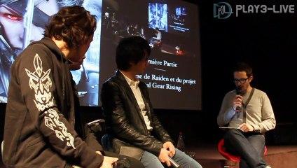 Master Class avec Hideo Kojima & Yoji Shinkawa de Metal Gear Rising : Revengeance