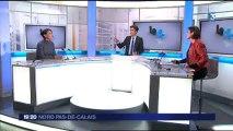 Marie-Anne Babé invitée du 19/20 de France 3 Nord Pas-de-Calais