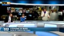 Salon de l'Agriculture : Gaston, le cochon stressé se réfugie dans l'entrejambe de son propriétaire – 22/02