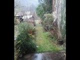 MC2044 Immobilier Tarn et Garonne.  Laguépie,  maison de village en pierre, 160m² de SH restaurée, 3 chambres, jardin