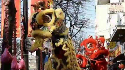 Reportage: célébration du nouvel An chinois dans le 13e arrondissement