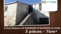 A vendre - Maison/villa - ST GEORGES D OLERON (17190) - 3 pièces - 76m²