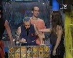 Denis Leary and Cindy Crawford presented Viewer's Choice MTV VMA 1992 Red Hot Chili Peppers