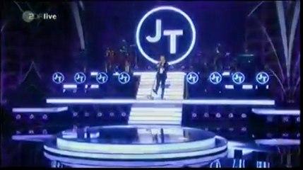 Wetten Dass - Live Mirrors Justin Timberlake