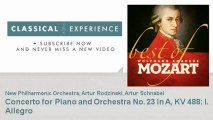 Wolfgang Amadeus Mozart : Concerto for Piano and Orchestra No. 23 in A, KV 488: I. Allegro