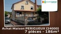 A vendre - Maison/villa - PERIGUEUX (24000) - 7 pièces - 186m²