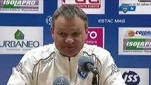 L1 / 2012-13 : Troyes 0-0 Bastia : Réaction de F. Hantz