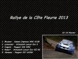 Rallye de la Côte Fleurie 2013