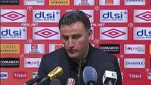 Conférence de presse AS Nancy-Lorraine - AS Saint-Etienne : Patrick GABRIEL (ASNL) - Christophe  GALTIER (ASSE) - saison 2012/2013
