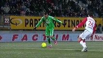 AS Nancy-Lorraine (ASNL) - AS Saint-Etienne (ASSE) Le résumé du match (26ème journée) - saison 2012/2013
