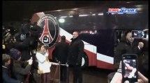 PSG - OM / L'arrivée des Parisiens au Parc des Princes - 24/02