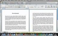 Tuto Mac - Word 2011 - Note bas page et de fin - Extrait