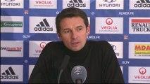 Conférence de presse Olympique Lyonnais - FC Lorient : Rémi GARDE (OL) - Christian  GOURCUFF (FCL) - saison 2012/2013
