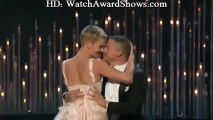 Channing Tatum Charlize Theron dance off Oscars 2013 [HD]