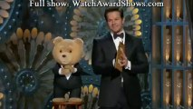 Ted makes joke that Oscars are controlled by jews illuminati Oscars 2013 [HD]