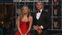 Channing Tatum waxed by Jennifer Aniston Academy Awards 2013 [HD]