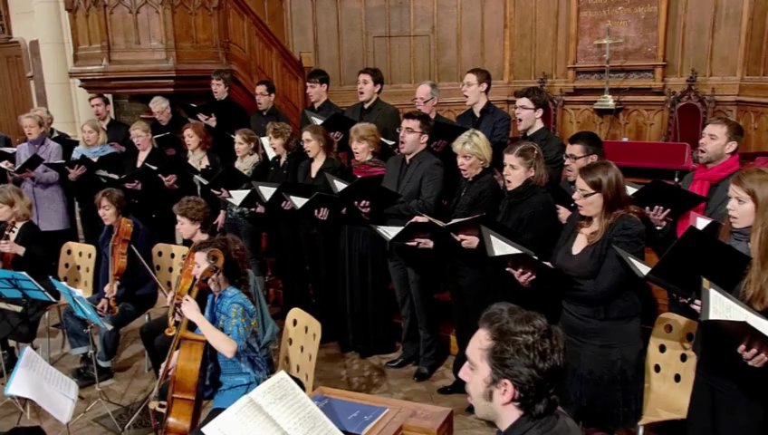"""Christ Lag in Todesbanden"" -- BACH COLLEGIUM PARIS"