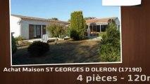 A vendre - Maison/villa - ST GEORGES D OLERON (17190) - 4 pièces - 120m²