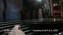 Oscars 2013 : un prix... et une chute pour Jennifer Lawrence