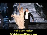 Actress Charlize Theron and actor Channing Tatum dance onstage Oscars 2013