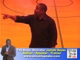 Jamahl Keyes Nationally recognized Youth Leadership Speaker.