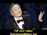 Director Ang Lee accepts the Best Director award for Life of Pi onstage Oscar Awards 2013