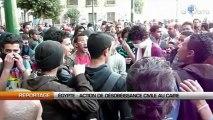 Égypte : Action de désobéissance civile au Caire