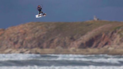 KiteSurf in Spain with rider David Espada