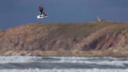 KiteSurf in Spain with rider David Espada