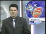 2004 (March 10) Arsenal (England) 2-Celta (Spain) 0 (Champions League)