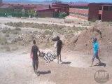 FAILS WORLD - BMX JUMP WITH ATV FAIL