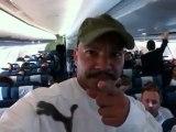 10h35► Ouufff i'IN, oneTel pour dire: Vìnn chèché Mwin, en ka vìnn Gwada ! lol ! Kiss.. ☀ 27/12/2012 Voyage Retour ✈ Paris/Guadeloupe ☺ Yannis Olivier Leborgne Malahël Vol Air Caraïbes Orly