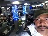 15h27► Contrôle d'identité Aéroport Pôle Caraïbe Pointe-à-Pitre Abymes ! Ah ! Même-pas ! Vue sur zone Douane ✚ Tapi récupération Bagages ☀ 27/12/2012 Voyage Retour ✈ Paris/Guadeloupe ☺ Yannis Olivier Leborgne Malahël Vol Air Caraïbes Orly