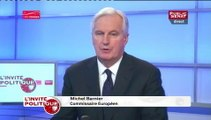 """Michel Barnier : """" Nous devons débattre des questions européennes, (...) on n'a pas à avoir l'Europe honteuse"""""""