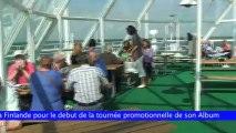 Mboutukou Suède Show sur plateforme et en pleine mer.mov