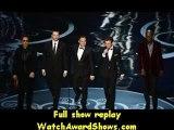 @Robert Downey Jr Chris Evans Mark Ruffalo Jeremy Renner and Samuel L. Jackson present onstage Oscars 2013