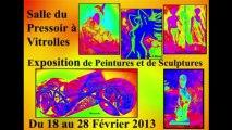 """Peintures et Sculptures à la salle du """"Pressoir"""" à Vitrolles"""