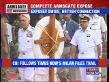 Armsgate: TIMES NOW Investigation forces CBI to act.