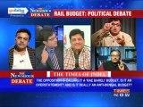 The Newshour Debate: A political debate over Rail Budget 2013 (Part 1 of 3)