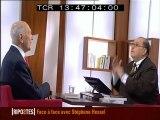 Stéphane Hessel dans RIPOSTES n°351 - Face à Face avec Serge Moati