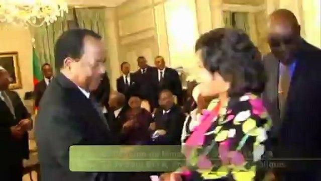Visite du chef d'Etat Camerounais Paul Biya en France