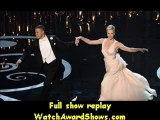 Academy Awards Channing Tatum and Charlize Theron dance onstage Oscars 2013