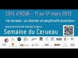 """Trailer de la """"Semaine du Cerveau 2013"""" en Côte d'Azur - CNRS et Université de Nice Sophia Antipolis"""