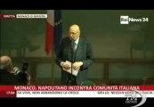 Futuro bambini, nazismo, Europa: Napolitano si commuove -VideoDoc. Presidente racconta episodio su strage Sant'Anna di Stazzema