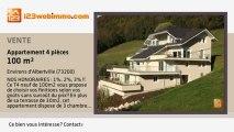 A vendre - appartement - Environs d'Albertville (73200) - 4 pièces - 101m²