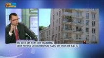 Le bilan des SCPI sur 2012 : Philippe Vergine - 28 février - BFM : Intégrale Placements